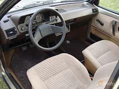 Interior of Volkswagen Polo Derby 1.3 Manual, 55ps, 1987
