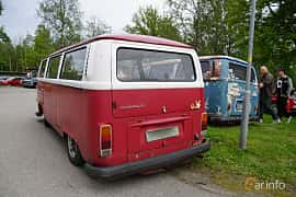 Back/Side of Volkswagen Transporter 1700 1.7 Manual, 67ps, 1972 at Onsdagsträffar på Gammlia Umeå 2019 vecka 23