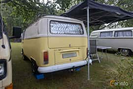 Back/Side of Volkswagen Transporter 1600 1.6 Manual, 50ps, 1972 at West Coast Bug Meet 2019
