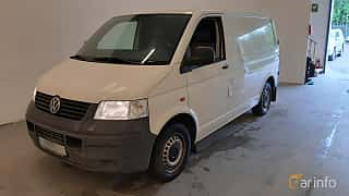 Front/Side  of Volkswagen Transporter 1.9 TDI DPF Manual, 102ps, 2007