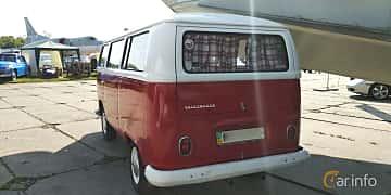 Back/Side of Volkswagen Transporter 1600 Minibus 1.6 Manual, 48ps, 1970 at Old Car Land no.1 2019