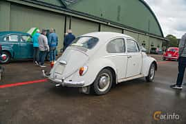 Back/Side of Volkswagen 1300 1.3 Manual, 41ps, 1966 at Fly ´n´ Ride 2018
