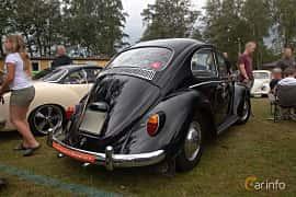 Back/Side of Volkswagen 1200 1.2 Manual, 34ps, 1965 at West Coast Bug Meet 2019