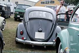 Back of Volkswagen 1200 1.2 Manual, 30ps, 1958 at West Coast Bug Meet 2019