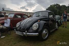 Front/Side  of Volkswagen 1200 1.2 Manual, 34ps, 1965 at West Coast Bug Meet 2019