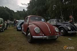 Front/Side  of Volkswagen 1200 1.2 Manual, 30ps, 1959 at West Coast Bug Meet 2019