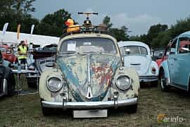 Front  of Volkswagen 1200 1.2 Manual, 34ps, 1961 at West Coast Bug Meet 2019