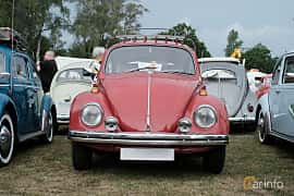 Front  of Volkswagen 1500 1.5 Manual, 44ps, 1969 at West Coast Bug Meet 2019