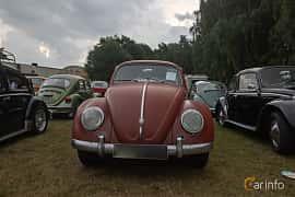 Front  of Volkswagen 1200 1.2 Manual, 30ps, 1959 at West Coast Bug Meet 2019