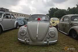 Front  of Volkswagen 1300 1.3 Manual, 41ps, 1966 at West Coast Bug Meet 2019