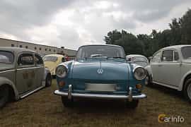 Front  of Volkswagen 1500 Variant 1.5 Manual, 45ps, 1963 at West Coast Bug Meet 2019