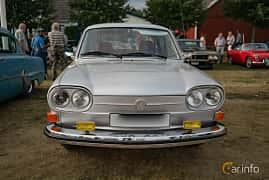 Front of Volkswagen 411 4-door 1.7 Manual, 80ps, 1971 at Veteranbilsträff i Vikens hamn Juli 2018