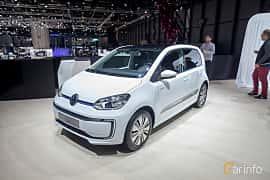 Fram/Sida av Volkswagen e-up! 18 kWh Single Speed, 82ps, 2018 på Geneva Motor Show 2018