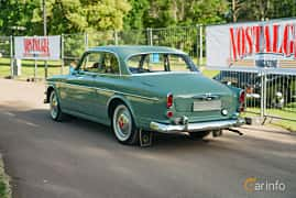 Back/Side of Volvo Amazon 121 P130 1.8 Manual, 68ps, 1962 at Ronneby Nostalgia Festival 2019
