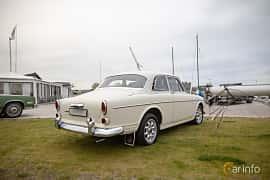 Back/Side of Volvo Amazon 123 GT 1.8 Manual, 96ps, 1967 at Veteranbilsträff i Vikens hamn  2019 Maj