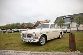 Front/Side  of Volvo Amazon 123 GT 1.8 Manual, 96ps, 1967 at Veteranbilsträff i Vikens hamn  2019 Maj