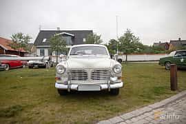 Front  of Volvo Amazon 123 GT 1.8 Manual, 96ps, 1967 at Veteranbilsträff i Vikens hamn  2019 Maj