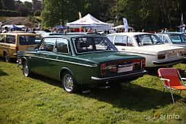 Back/Side of Volvo 142 2.0 Manual, 82ps, 1972 at Tjolöholm Classic Motor 2018
