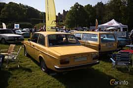 Back/Side of Volvo 142 2.0 Manual, 82ps, 1973 at Tjolöholm Classic Motor 2018