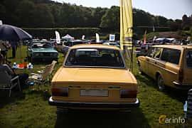 Back of Volvo 142 2.0 Manual, 82ps, 1973 at Tjolöholm Classic Motor 2018