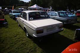 Back/Side of Volvo 144 2.0 Manual, 82ps, 1973 at Tjolöholm Classic Motor 2018