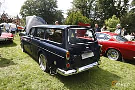 Back/Side of Volvo Amazon 121 P220 2.0 Manual, 82ps, 1969 at Sofiero Classic 2019