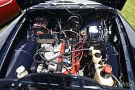 Engine compartment  of Volvo Amazon 121 P220 2.0 Manual, 82ps, 1969 at Sofiero Classic 2019