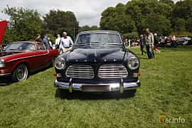 Front  of Volvo Amazon 121 P220 2.0 Manual, 82ps, 1969 at Sofiero Classic 2019