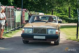 Front  of Volvo 262 2.8 V6 Automatic, 156ps, 1981 at Ronneby Nostalgia Festival 2019