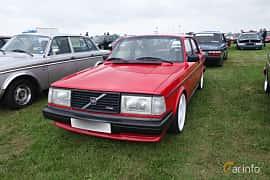 Fram/Sida av Volvo 242 2.1 Turbo Manual, 155ps, 1982 på Vallåkraträffen 2018