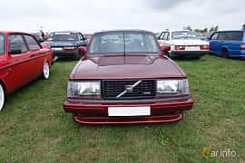 Front  of Volvo 242 1979 at Vallåkraträffen 2018