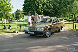 Side  of Volvo 262 2.8 V6 Automatic, 156ps, 1981 at Ronneby Nostalgia Festival 2019