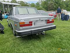 Back of Volvo 264 2.7 V6 Automatic, 140ps, 1978 at Sofiero Classic 2019