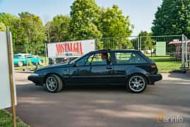 Side  of Volvo 480 2.0 Manual, 109ps, 1995 at Ronneby Nostalgia Festival 2019