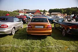 Back of Volvo C70 Coupé 2.3 T5 Automatic, 240ps, 1998 at Tjolöholm Classic Motor 2018