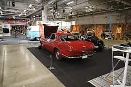 Back/Side of Volvo 1800S 1.8 Manual, 96ps, 1964 at Bilsport Performance & Custom Motor Show 2019