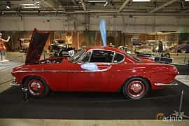 Side  of Volvo 1800S 1.8 Manual, 96ps, 1964 at Bilsport Performance & Custom Motor Show 2019