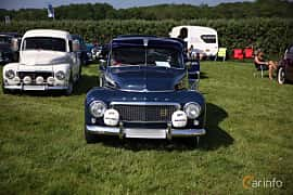 Front  of Volvo PV544A 1.6 B16A Manual, 60ps, 1960 at Tjolöholm Classic Motor 2018