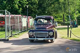 Front  of Volvo PV445 1.8 Manual, 60ps, 1960 at Ronneby Nostalgia Festival 2019
