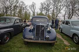 Fram av Volvo PV51 3.7 Manual, 86ps, 1937 på Lucys motorfest 2019