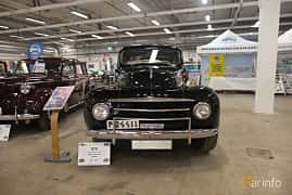Front  of Volvo PV831 3.7 Manual, 90ps, 1951 at Bilsport Performance & Custom Motor Show 2018