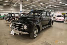 Front/Side  of Volvo PV831 3.7 Manual, 90ps, 1951 at Bilsport Performance & Custom Motor Show 2018