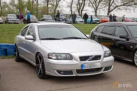 Front/Side  of Volvo S60 2.5T Manual, 210ps, 2004 at Lucys motorfest 2019