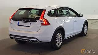 Back/Side of Volvo V60 Cross Country 2.4 D4 AWD Geartronic, 190ps, 2016