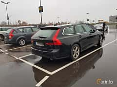 Back/Side of Volvo V90 2.0 D4 AWD Geartronic, 190ps, 2017