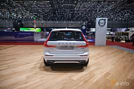 Back of Volvo XC60 2.0 T8 AWD Geartronic, 408ps, 2017 at Geneva Motor Show 2017