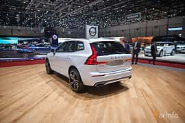 Back/Side of Volvo XC60 2.0 T8 AWD Geartronic, 408ps, 2017 at Geneva Motor Show 2017