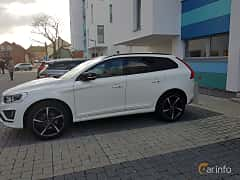 Front/Side  of Volvo XC60 Polestar 2.4 D5 AWD Geartronic, 230ps, 2015