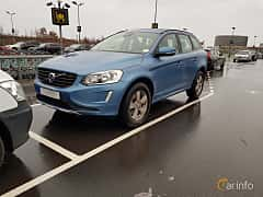 Front/Side  of Volvo XC60 2.4 D4 AWD Geartronic, 190ps, 2017