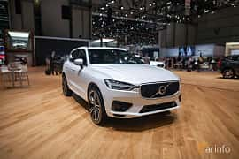 Front/Side  of Volvo XC60 2.0 T8 AWD Geartronic, 408ps, 2017 at Geneva Motor Show 2017